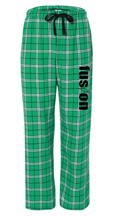Boxercraft - Flannel Pants With Pockets - F20 • Green/white