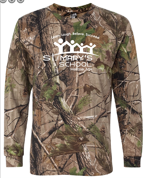Code Five - Adult Realtree® Camo Long Sleeve Tee - 3981 • Real Tree APG