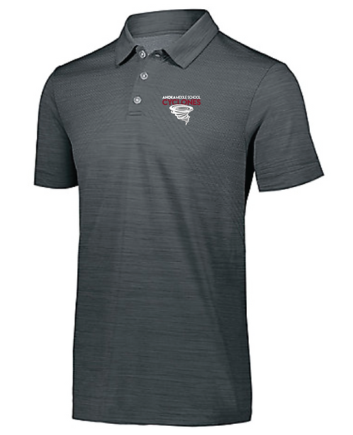 Striated Polo • 222556 • Graphite