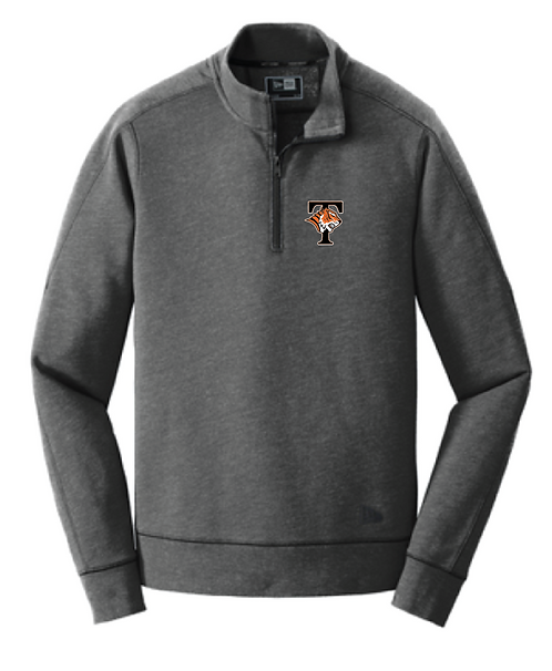 New Era® Tri-Blend Fleece 1/4-Zip Pullover • NEA512