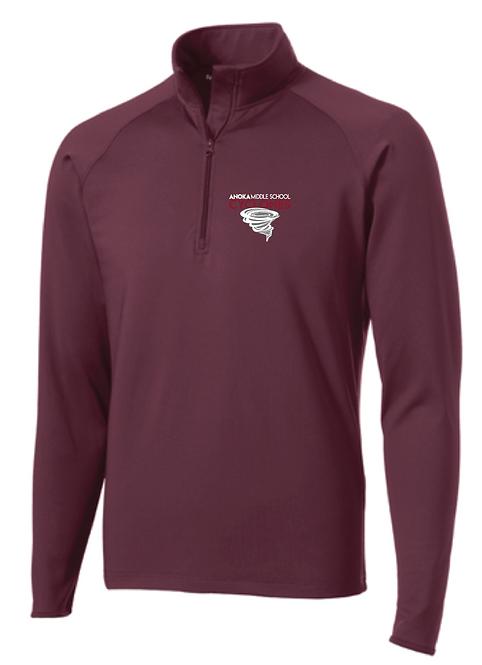 Sport-Tek® Sport-Wick® Stretch 1/2-Zip Pullover • ST850
