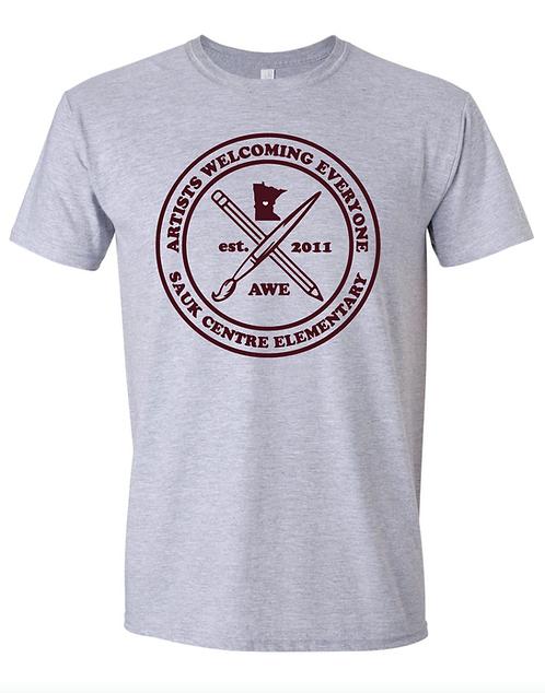 Gildan Youth Softstyle ® T-Shirt •64500B • sports grey