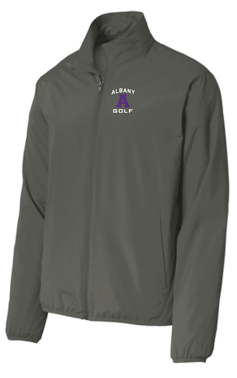 AG Port Authority® Zephyr Full-Zip • Jacket Grey Steel • J344