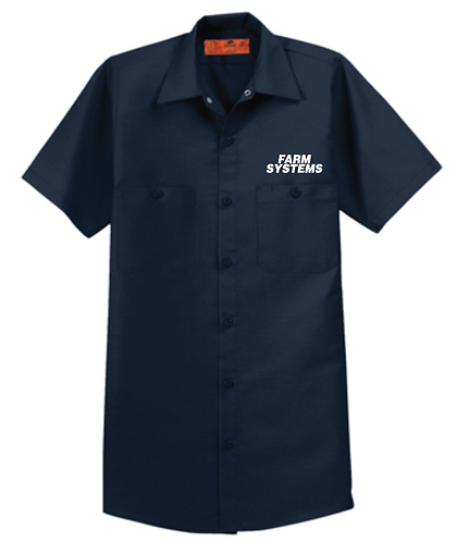 Red Kap® Short Sleeve Industrial Work Shirt • SP24