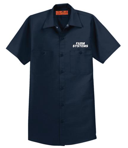 Red Kap® Short Sleeve Industrial Work Shirt •SP24