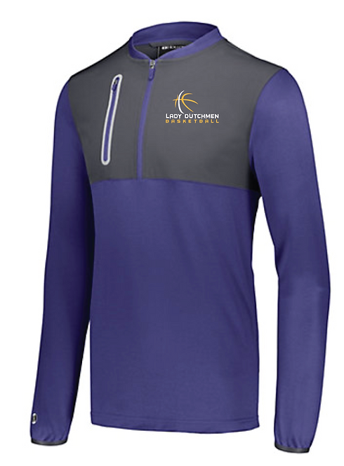 Holloway Weld Hybrid Pullover 229596 With Personalized Embroidered Name • purple