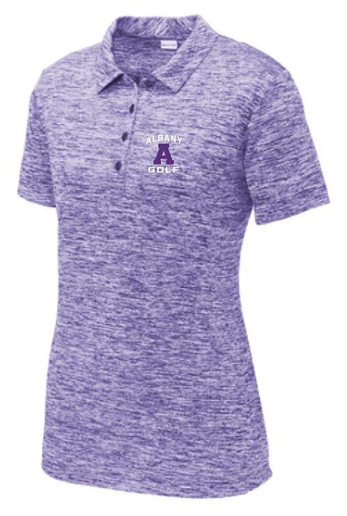 Sport-Tek® Ladies PosiCharge® Electric Heather Polo • LST590 • Electric Purple