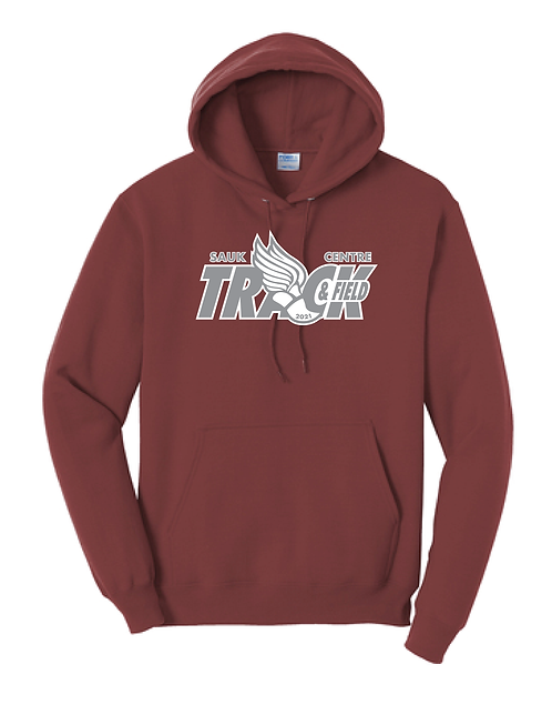 PC78H Port & Company® Core Fleece Pullover Hooded Sweatshirt