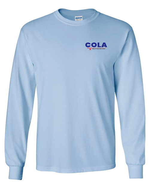 Gildan® - Ultra Cotton® 100% Cotton Long Sleeve T-Shirt • 2400