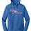Thumbnail: New Era® Ladies Tri-Blend Fleece Pullover Hoodie LNEA510