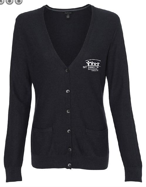 Van Heusen - Women's Cardigan Sweater - 13VS007 •black