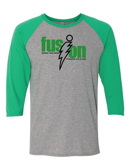 JERZEES - Triblend Three-Quarter Raglan Baseball T-Shirt
