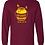 Thumbnail: Gildan® - Ultra Cotton® 100% Cotton Long Sleeve T-Shirt • 2400 - with name