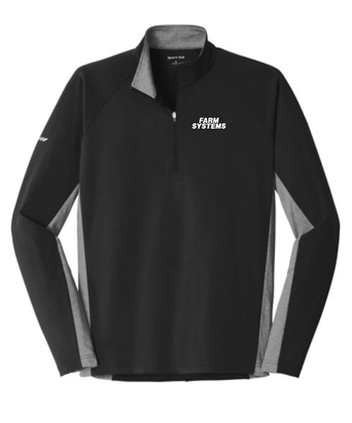 Sport-Tek® Sport-Wick® Stretch Contrast 1/2-Zip Pullover •ST854
