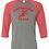 Thumbnail: AT Bella + Canvas - Three-Quarter Sleeve Baseball Tee - 3200