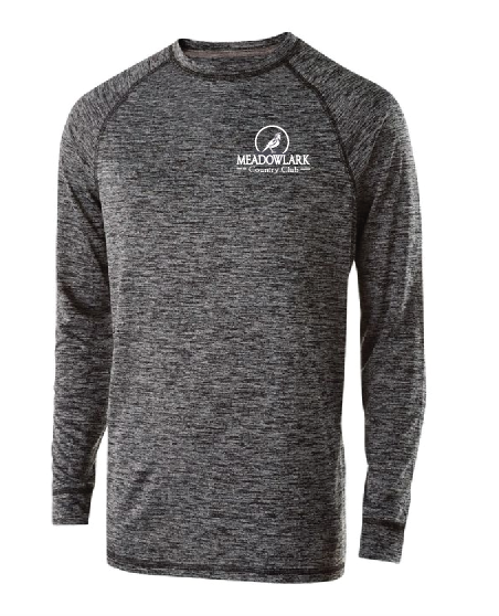 Electrify 2.0 Long sleeve shirt •222524 •black heather