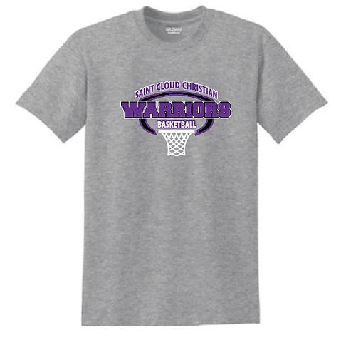 Gildan - DryBlend 50/50 T-Shirt - 8000 • Heather Sports Grey