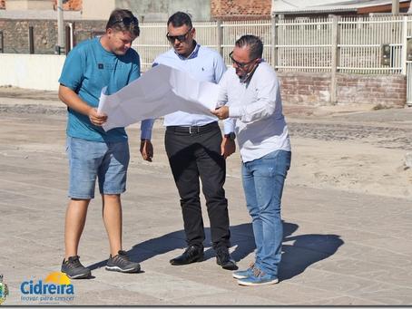 Prefeitura dá início às obras de construção da tão esperada Pista de skate