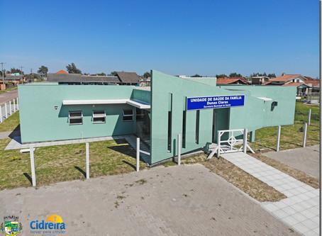 Prefeitura inaugura nova Unidade de Saúde da família