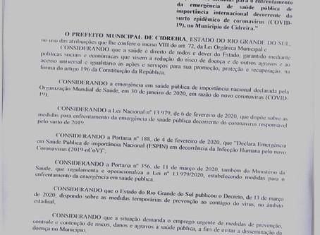 Decreto n° 028/2020