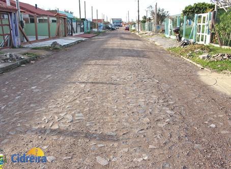 Mais uma rua concluída