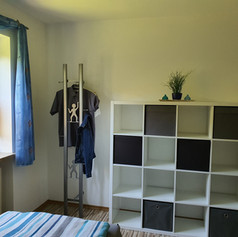 Schlafzimmer Schrank/Regal - offenes System