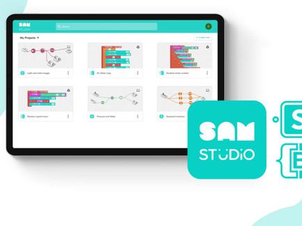 SAM Labs launched a new platform: SAM Studio!