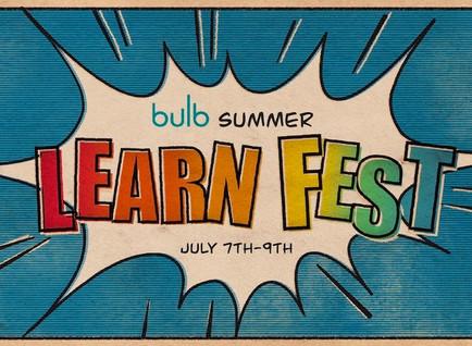 Bulb Digital Portfolios Summer Learn Fest