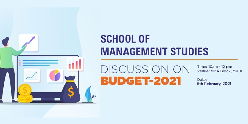 DISCUSSION ON BUDGET – 2021