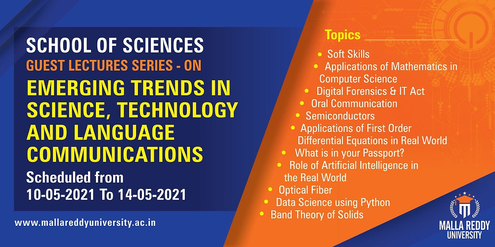Emerging Trends in Science, Technology and Language Communications