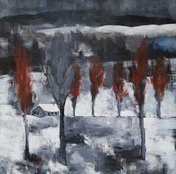 La cheminée fume pour toi. Michel Vincent
