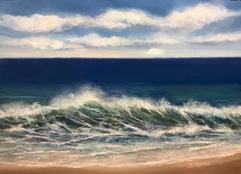 La danse des vagues III, Johanne Pion