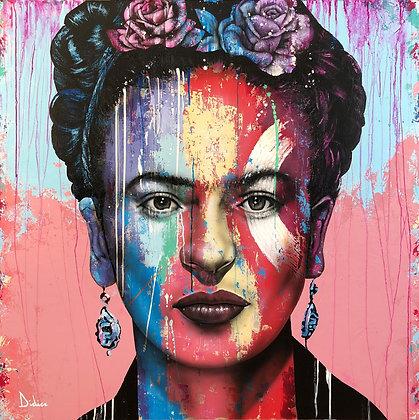 """""""Frida"""", giclée sur PAPIER ARCHES, vue par DIDIER Artiste"""