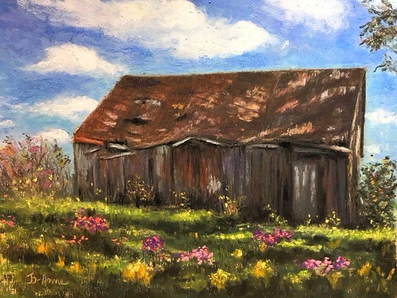 À l'ombre de la vieille grange, J. Pion