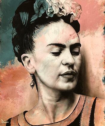 """""""Frida no2"""", giclée sur TOILE, par DIDIER Artiste"""