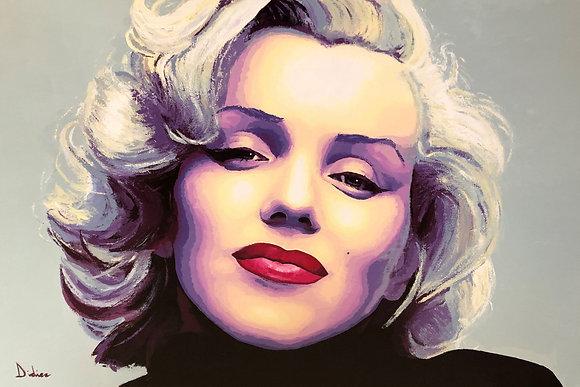 """""""Marilyn"""", giclée sur TOILE, par DIDIER Artiste"""