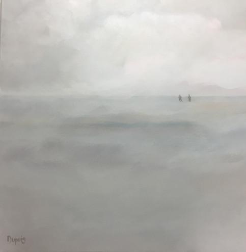 Steppette dans la brume, Monique Dupuis