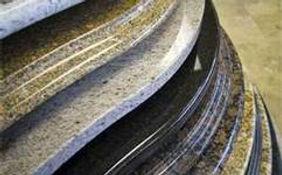 granite countertop edges