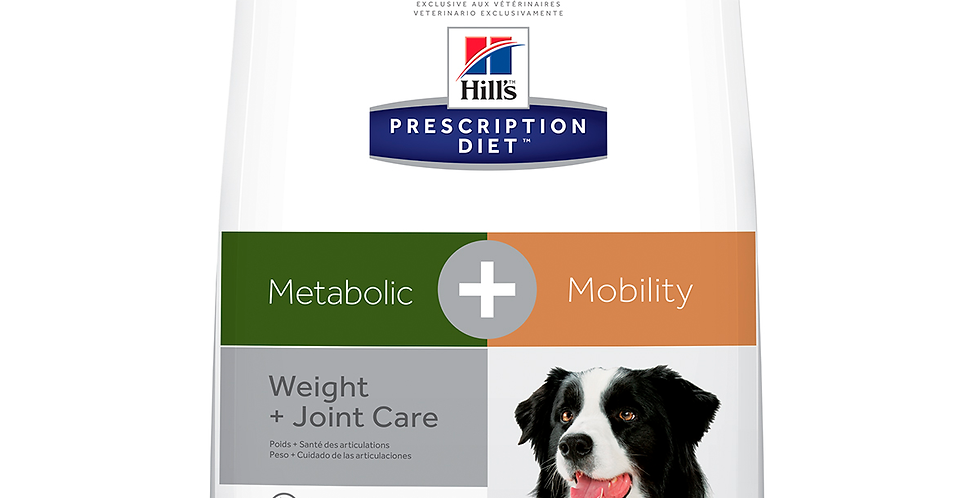 Hill's Metabolic + j/d  canino