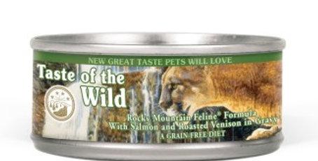 Taste of the Wild Rocky Mountain Feline (venado) lata