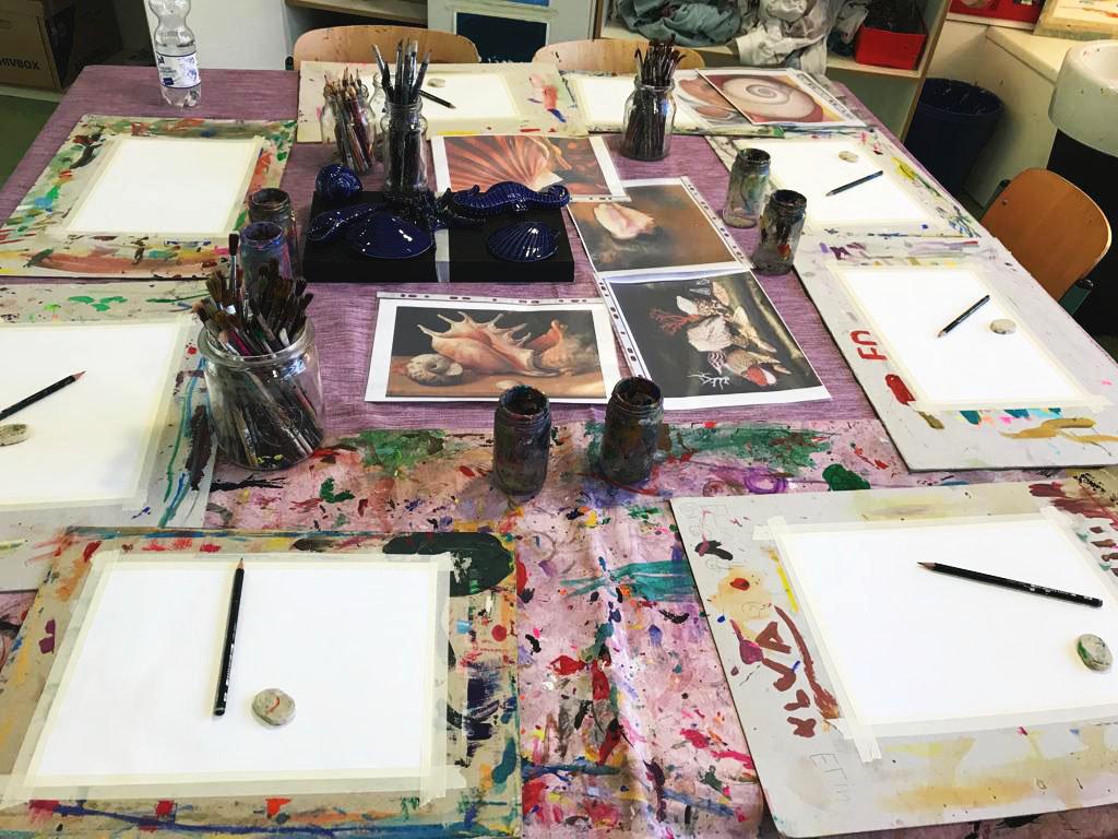 Acryl 3 - Kunstkurs