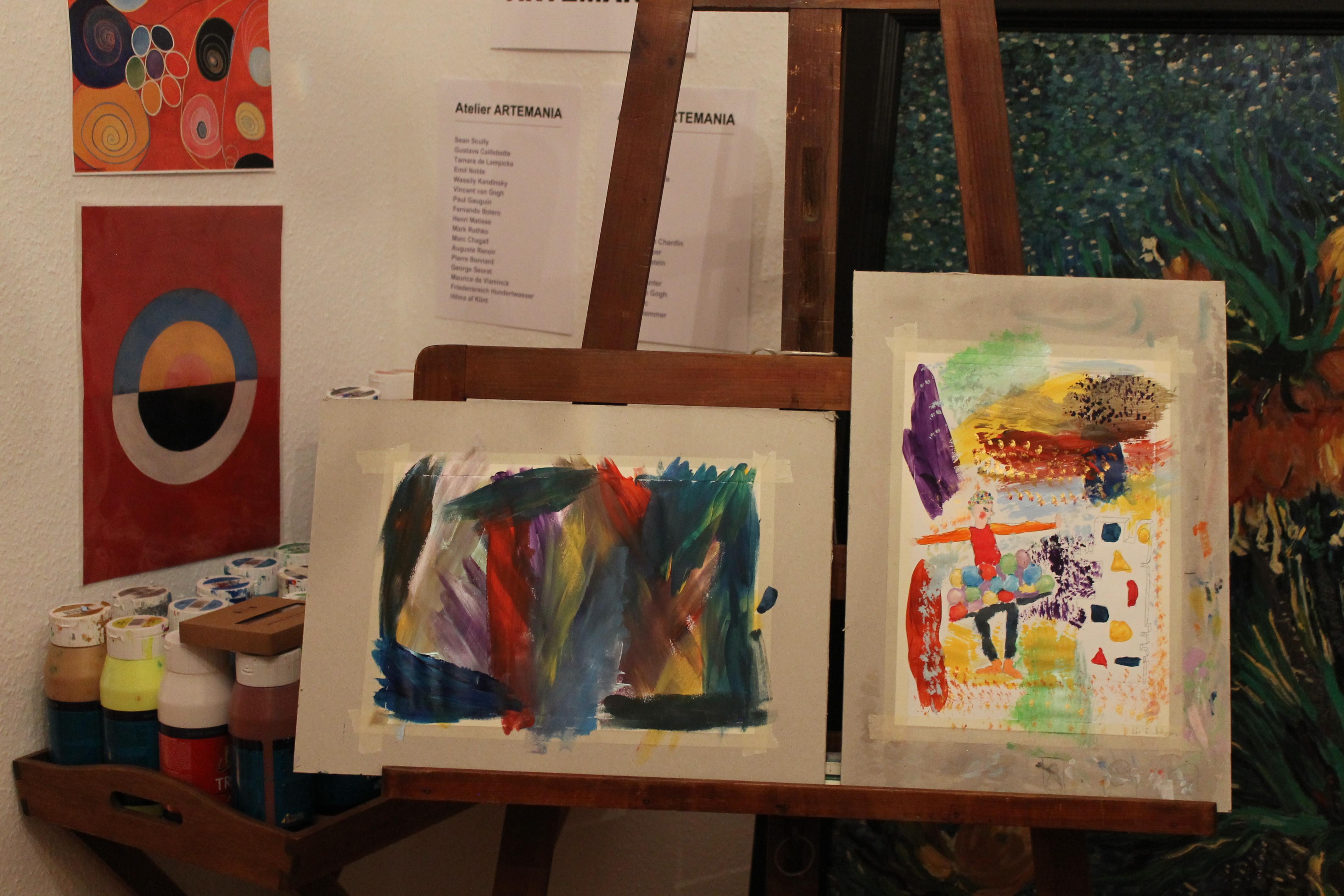 Acryl 2 - Kunstkurs
