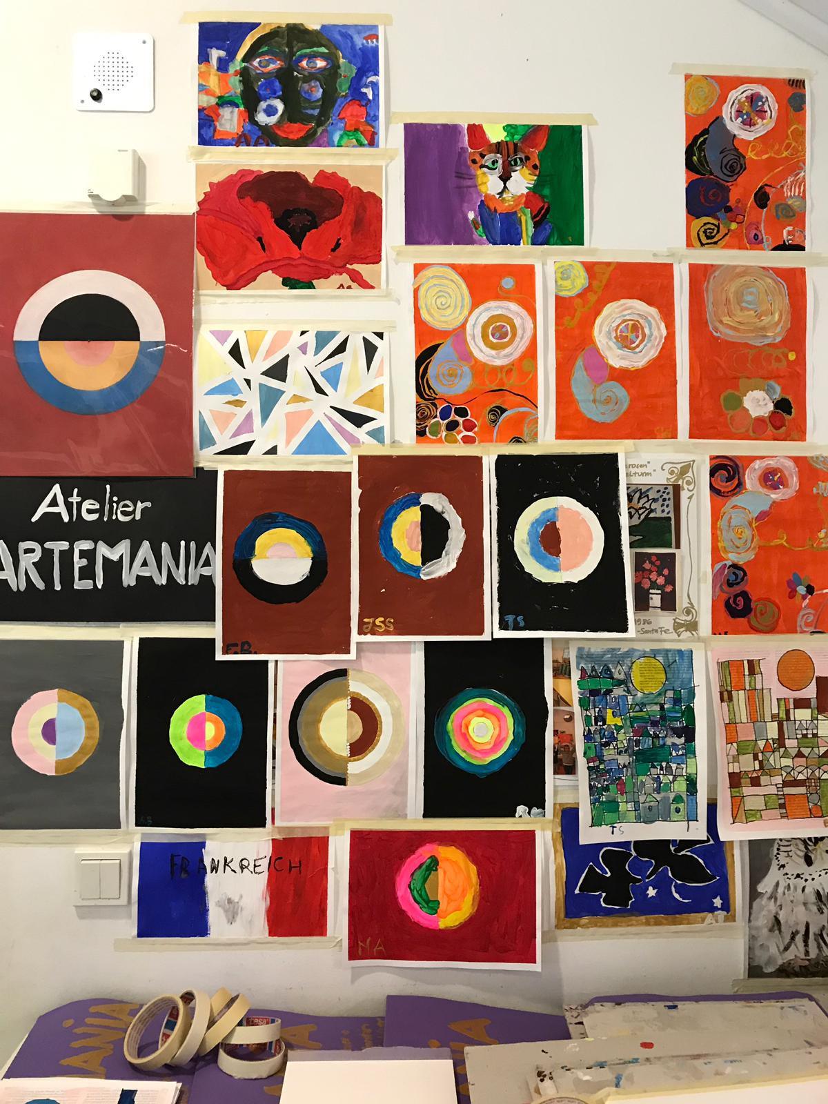 Acryl 1 - Kunstkurs