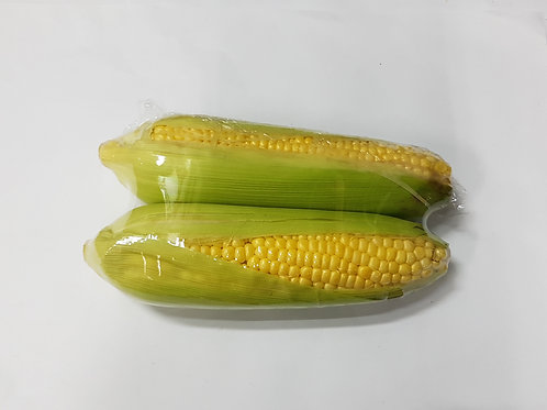 PEARL SWEETCORN WITH LEAVES 珍珠玉米
