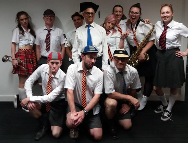 School Disco 11-piece band