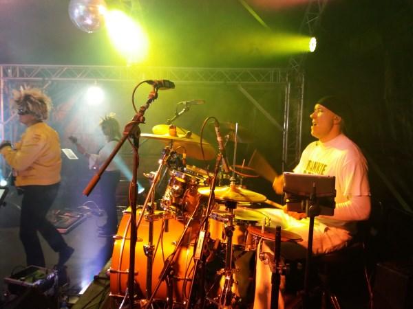 Drummer, 1980s set
