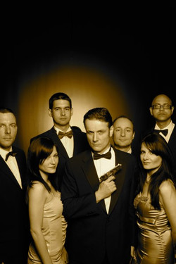 Our James Bond theme tune band