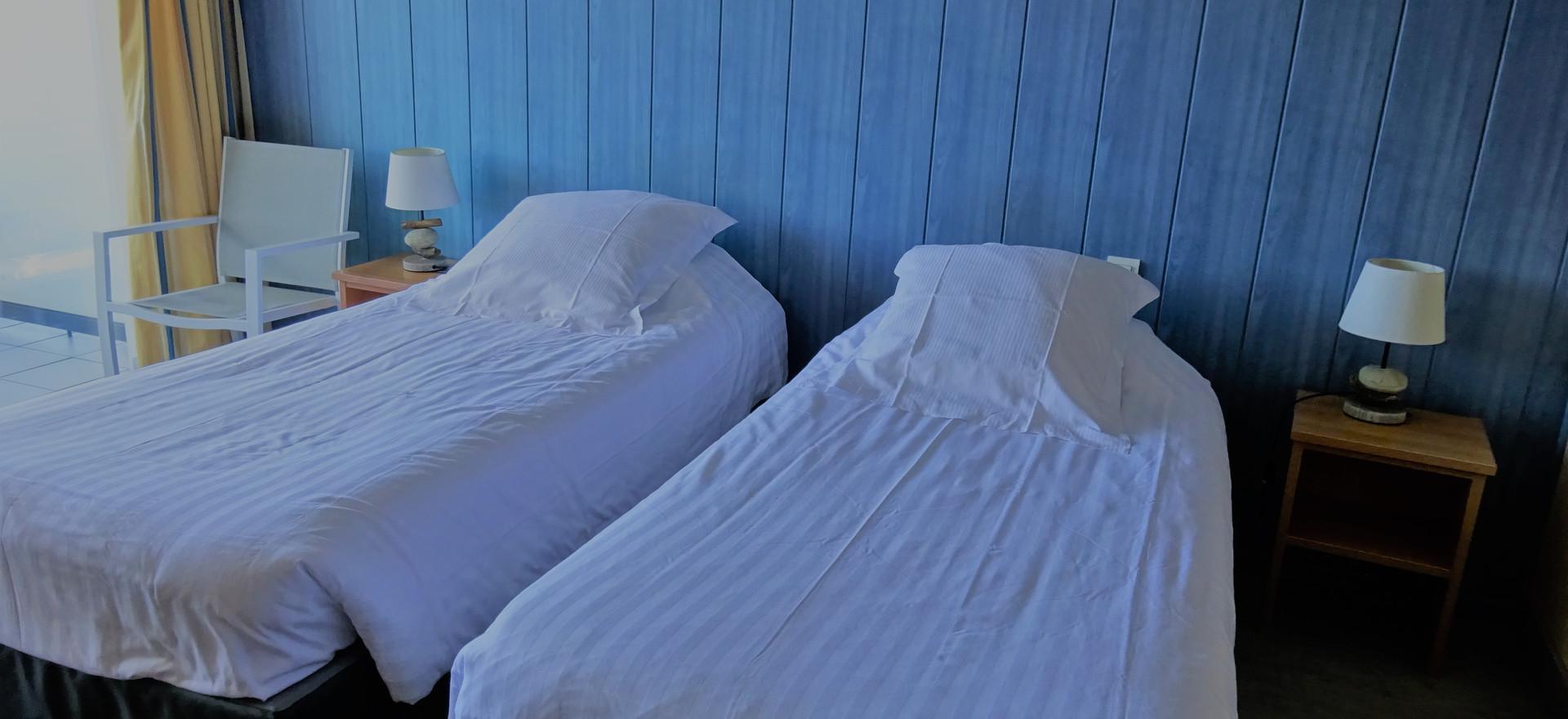 Possibilité de mettre en deux lits sur demande