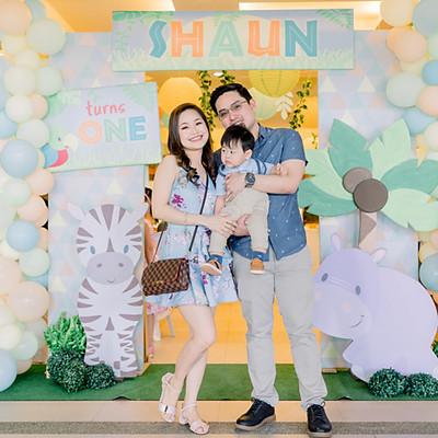 Shaun's First Birthday