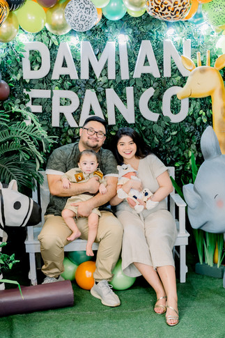 Damian's First Birthday Home Celebration